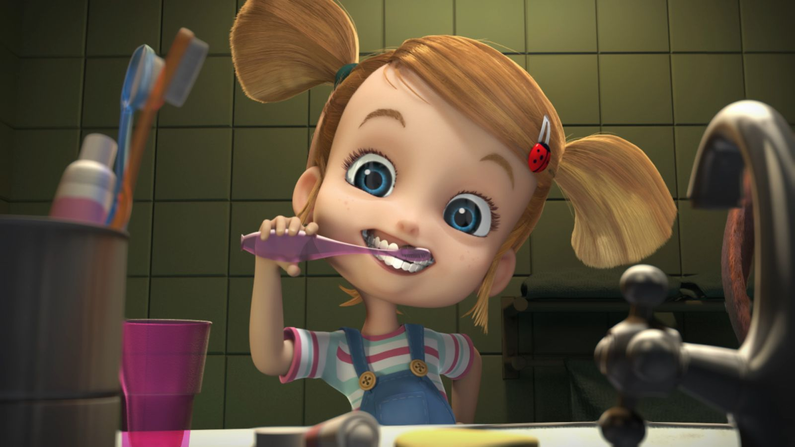 Ozzy - Cucciolo coraggioso: un'immagine tratta dal film d'animazione