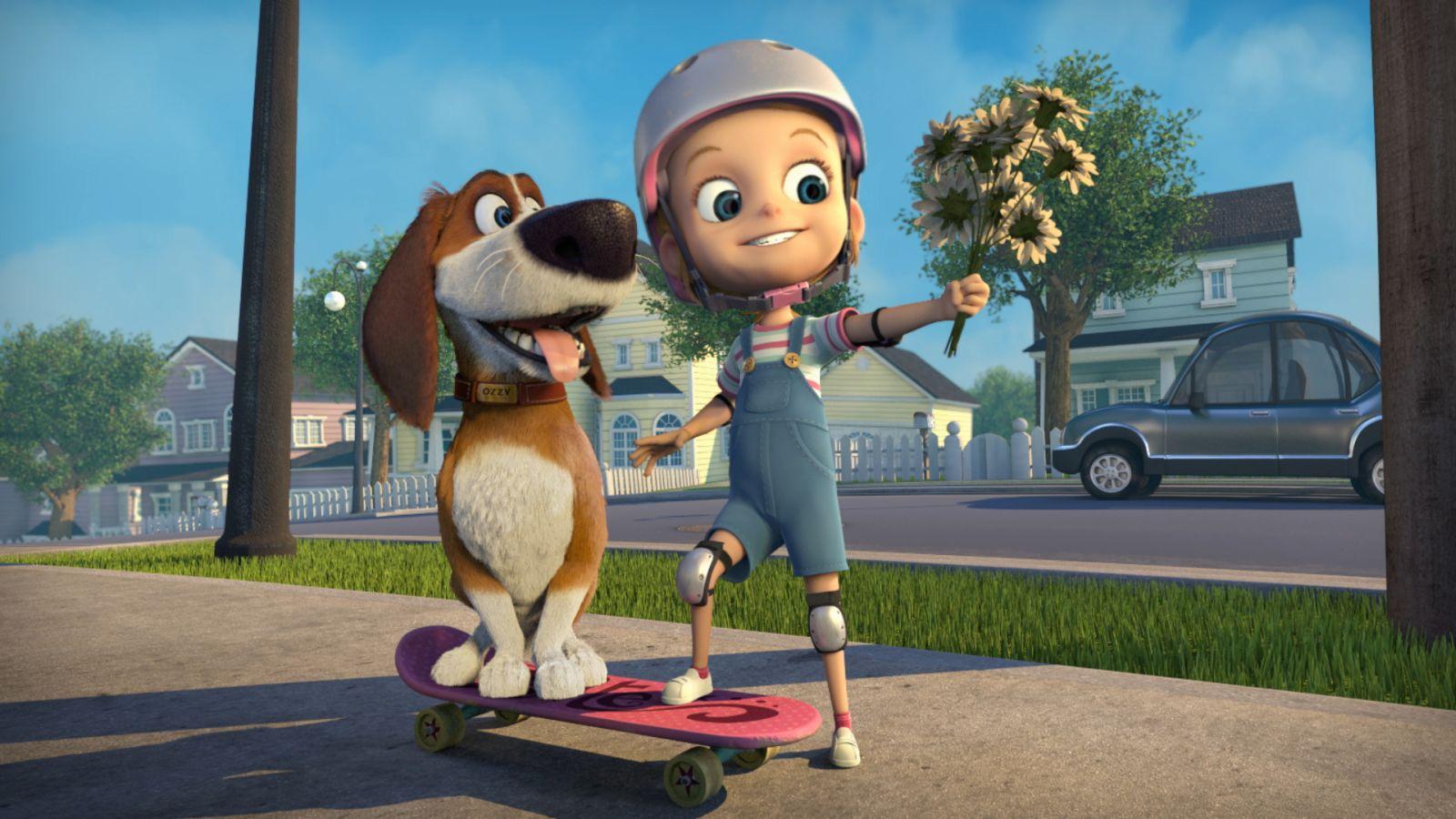 Ozzy - Cucciolo coraggioso: una scena del film d'animazione