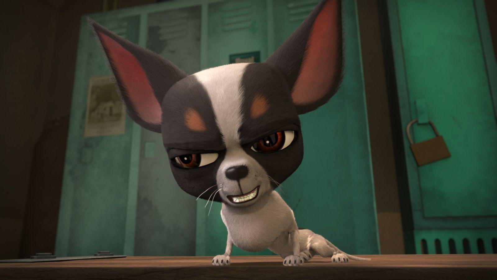 Ozzy - Cucciolo coraggioso: una scena del film animato