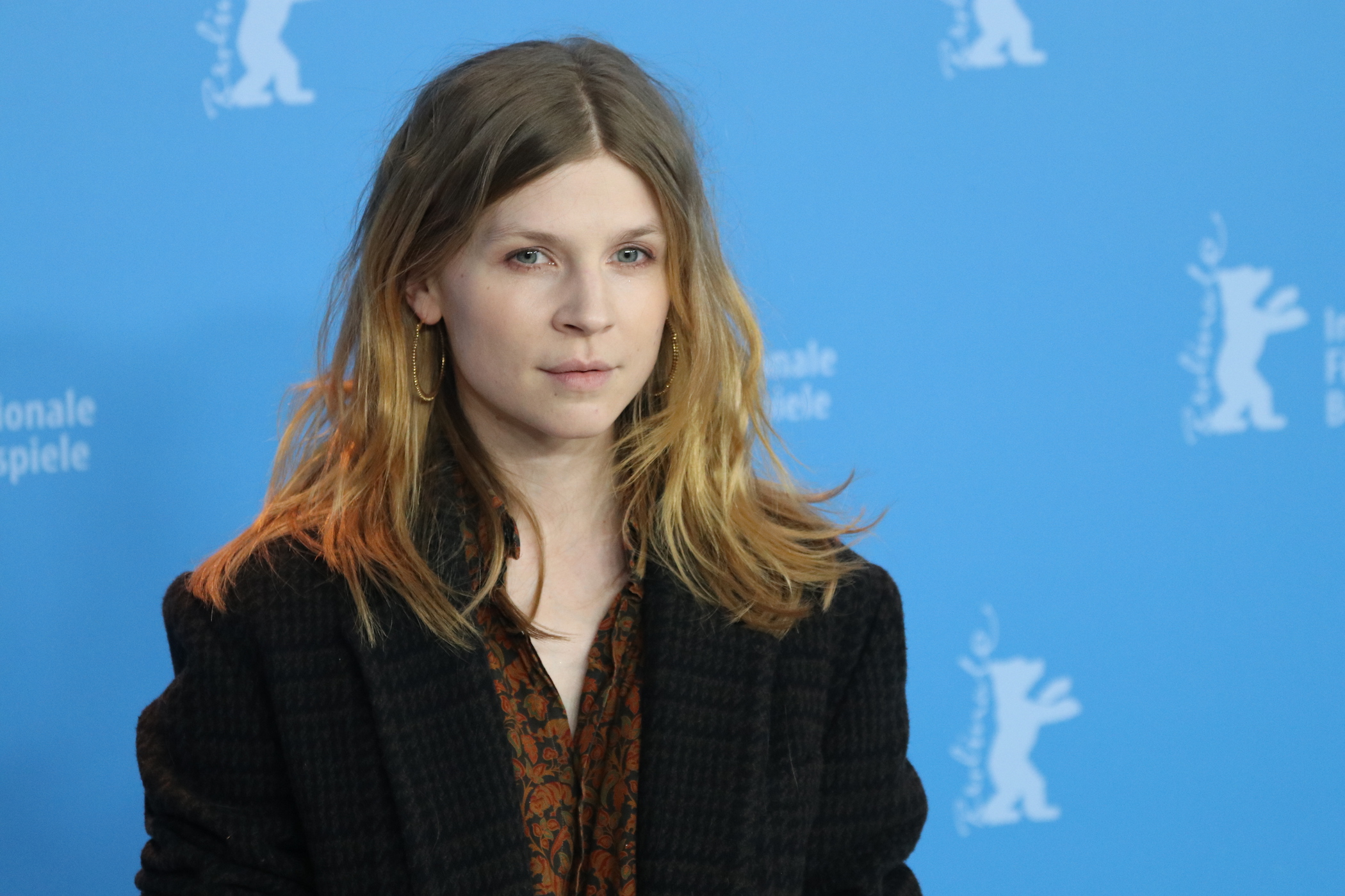 Berlino 2017: uno scatto di Clémence Poésy al photocall di Final Portrait