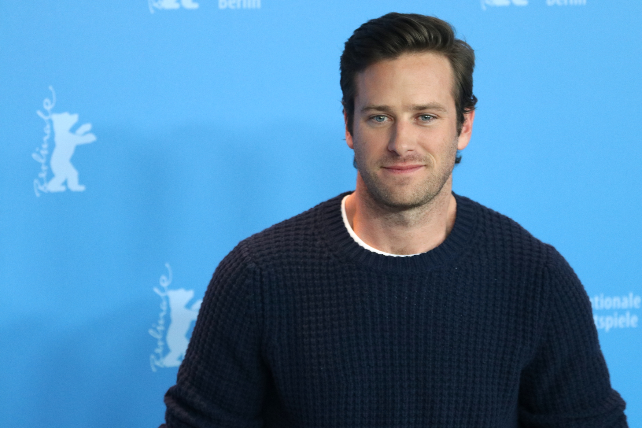 Berlino 2017: Armie Hammer al photocall di Final Portrait