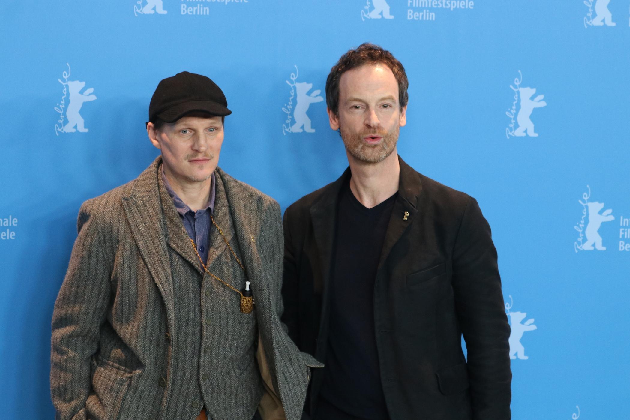 Berlino 2017: Jörg Hartmann e Georg Friedrich al photocall di Wilde Mouse