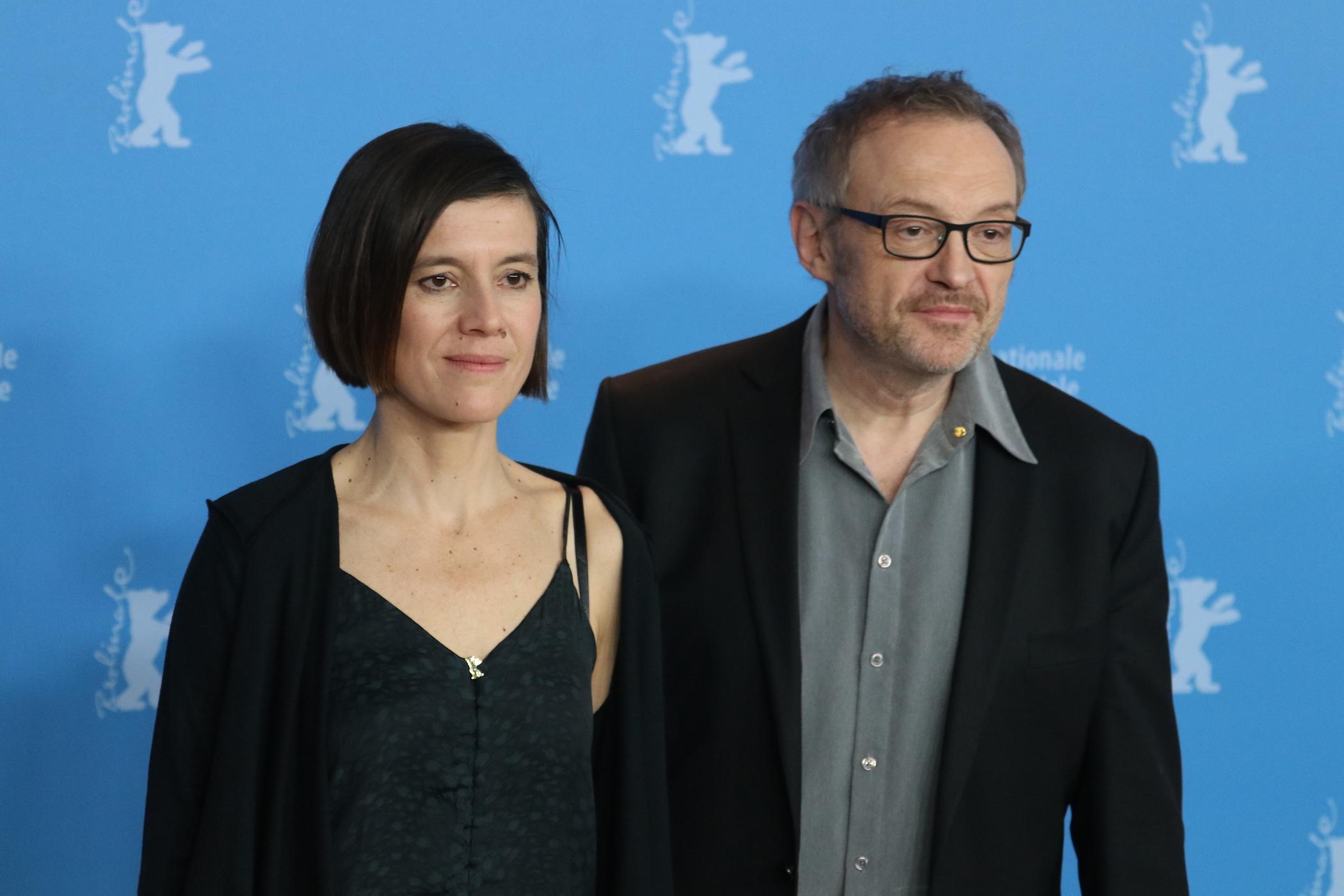 Berlino 2017: Josef Hader e Pia Hierzegger al photocall di Wilde Mouse