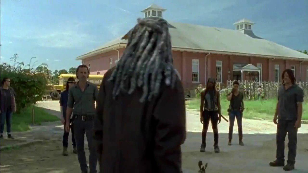 The Walking Dead: un momento dell'episodio Ci vuole coraggio