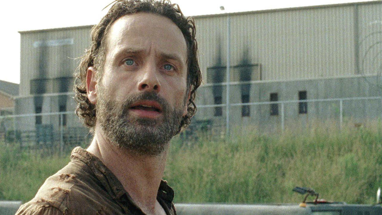 The Walking Dead: un primo piano di Andrew Lincoln