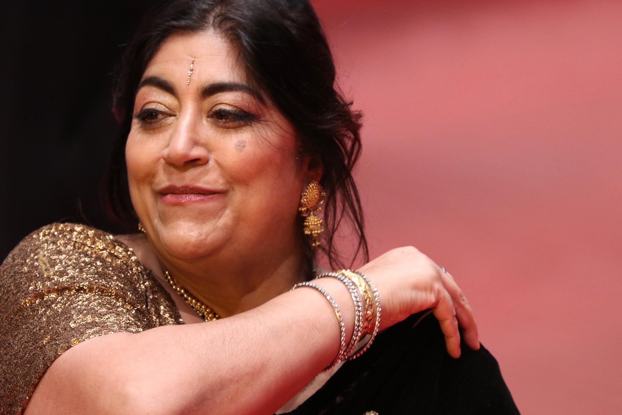 Berlino 2017: Gurinder Chadha sul red carpet di Viceroy's House