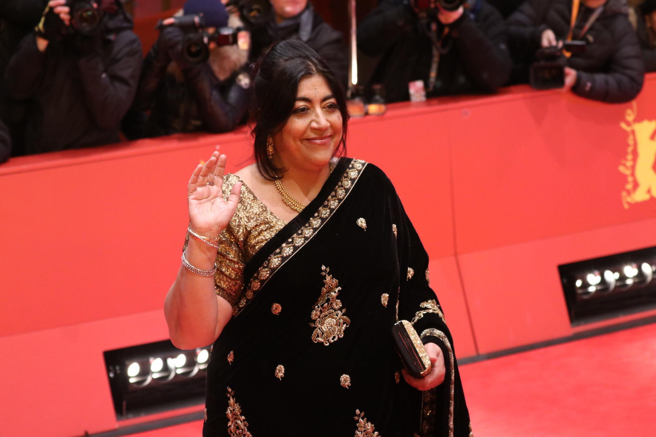 Berlino 2017: la regista Gurinder Chadha sul red carpet  di Viceroy's House