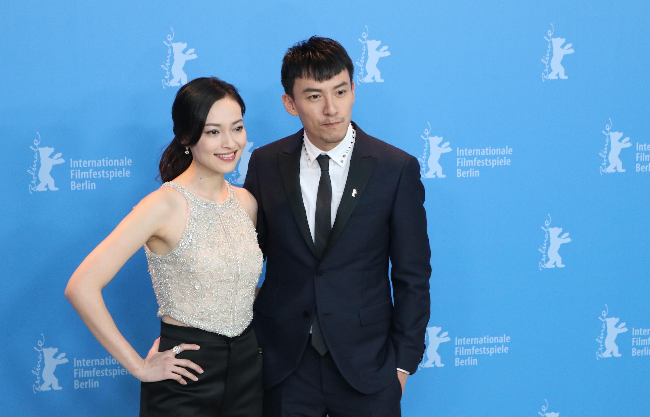 Berlino 2017: YAO Yiti e CHANG Chen al photocall di Mr. Long