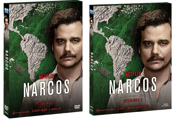 Le cover homevideo di Narcos