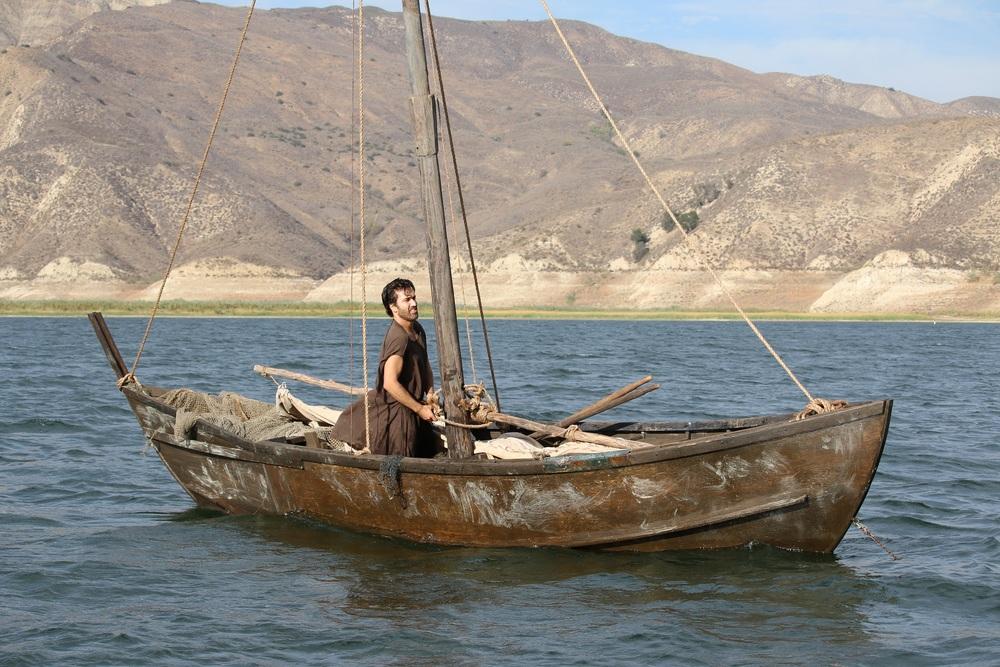 Piena di grazia: Merik Tadros in una scena del film