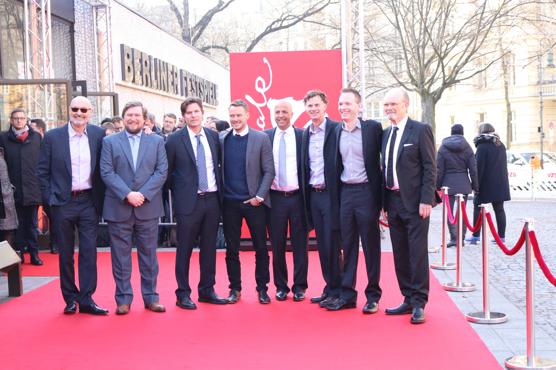 Berlino 2017: Terry O'Quinn, Michael Dorman, Kurtwood Smith e Michael Chernus sul red carpet di Patriot