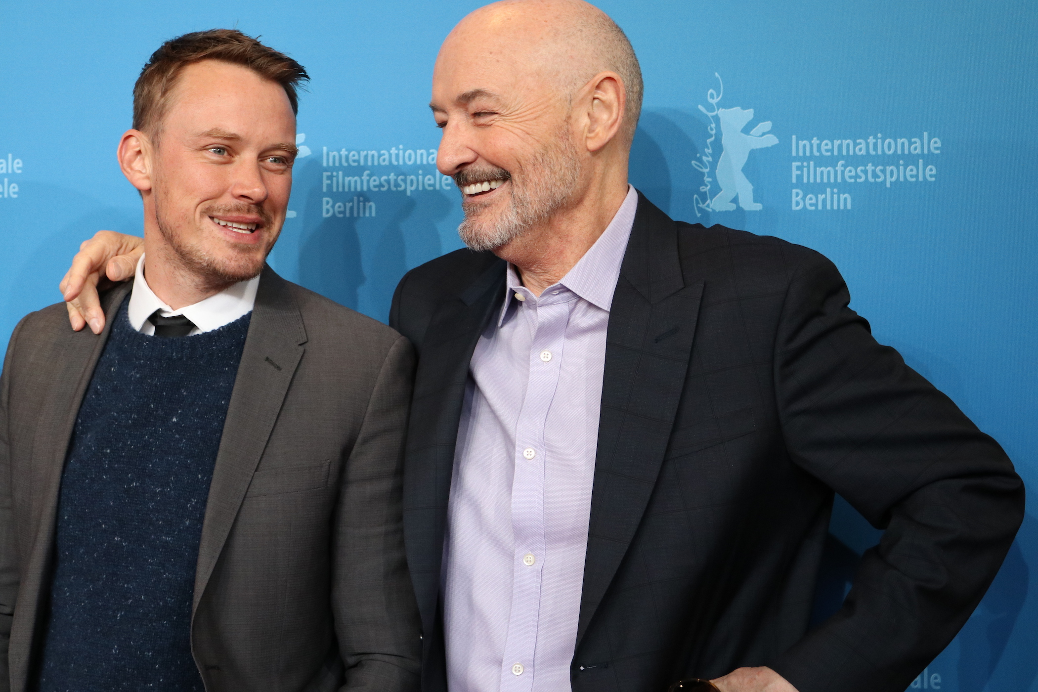 Berlino 2017: Terry O'Quinn e Michael Dorman sul red carpet di Patriot