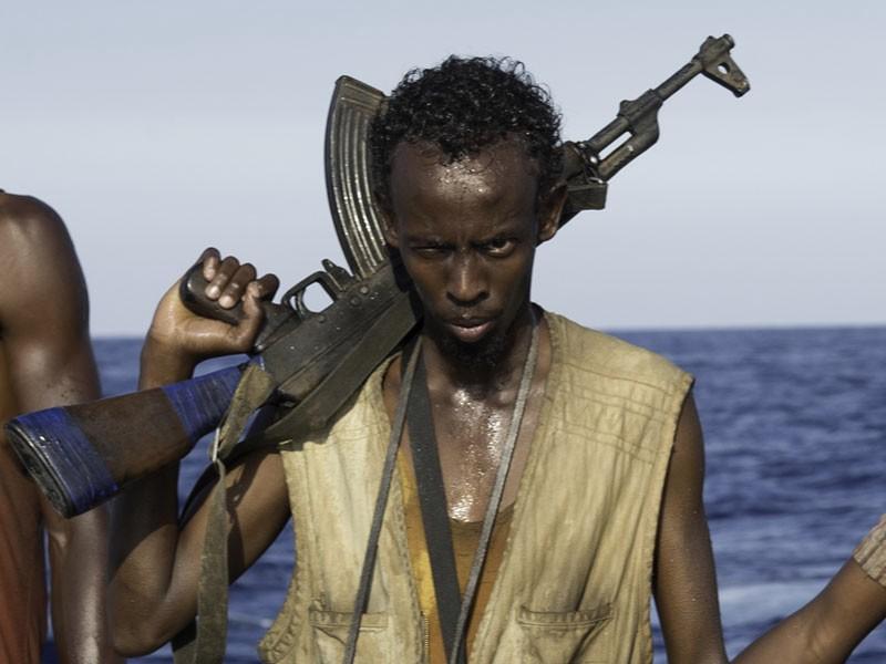 Captain Phillips - Attacco in mare aperto: una scena del film