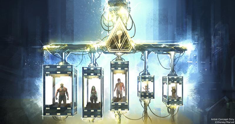 Guardians of the Galaxy – Mission: BREAKOUT! - Un'immagine dell'attrazione