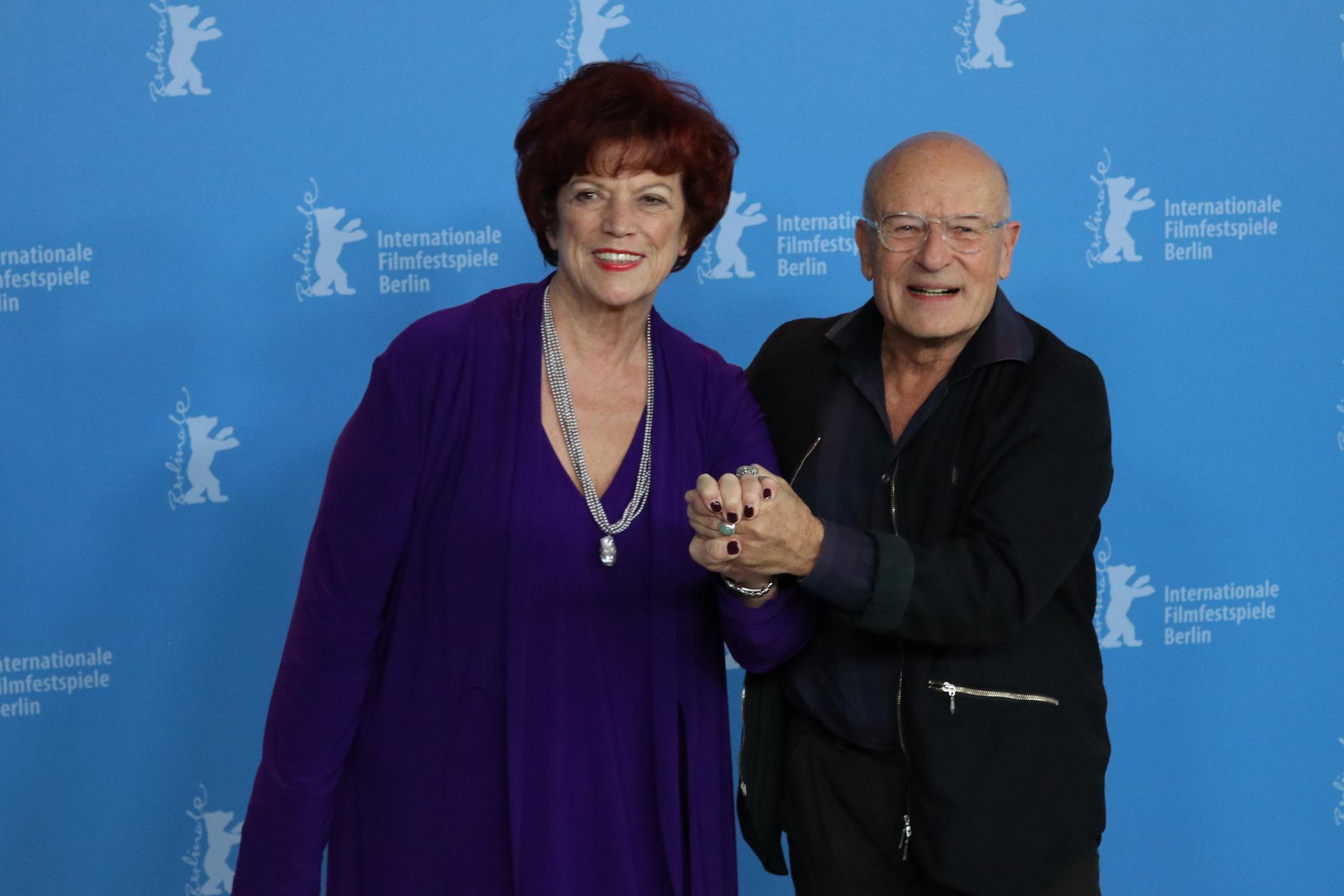 Berlino 2017: Volker Schlöndorff e Regina Ziegler al Photocall di Return to Montauk