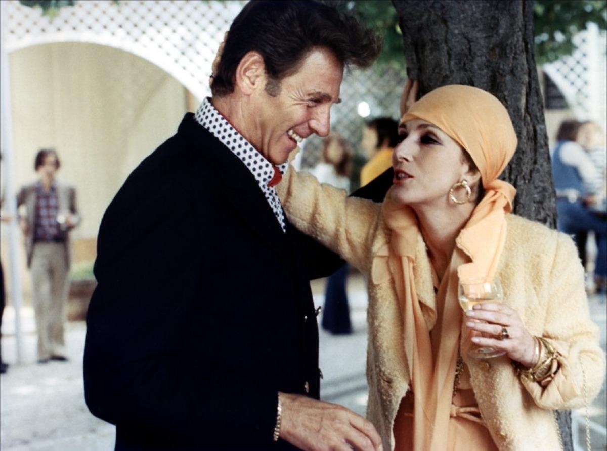 Effetto notte: Valentina Cortese in una scena del film