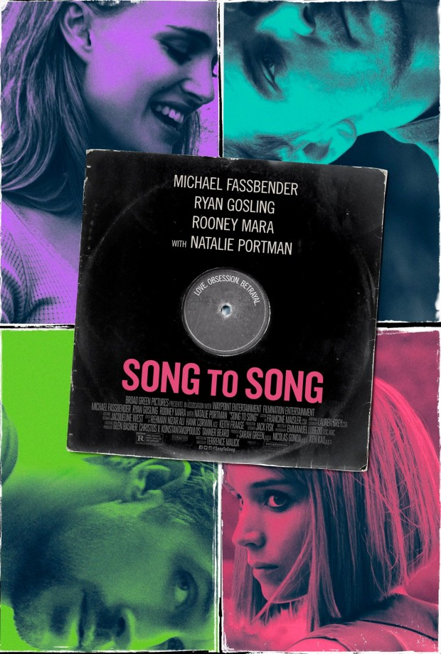 Song to Song: il poster del film
