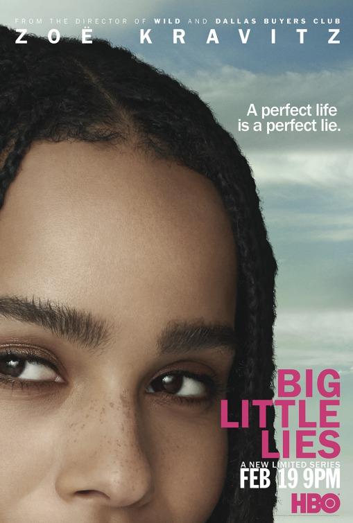 Big Little Lies: un character poster per Zoe Kravitz