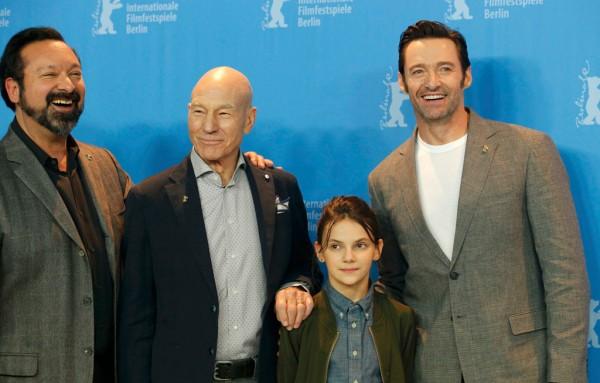 Logan: Hugh Jackman, Patrick Stewart, James Mangold e Dafne Keen al Festival di Berlino 2017