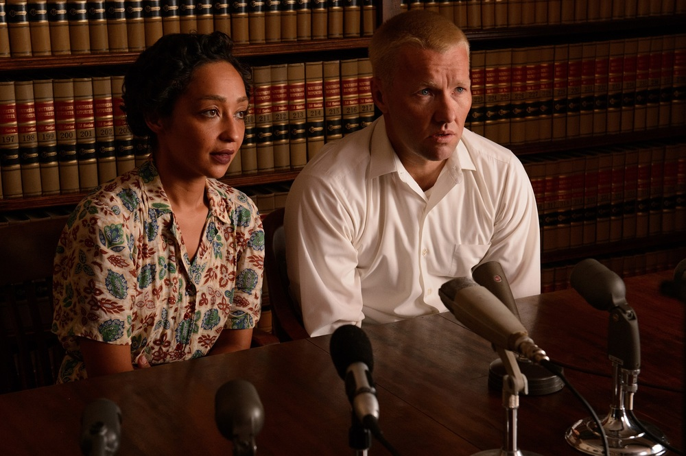 Loving: Joel Edgerton e Ruth Negga in un'immagine del film