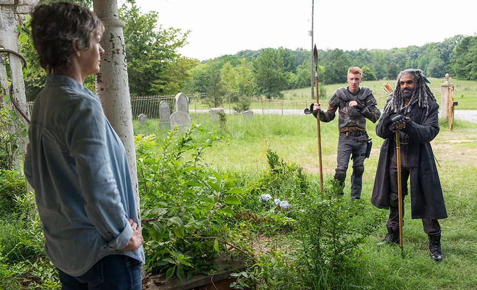The Walking Dead: Melissa McBride, Daniel Newman e Khary Pyton in New Best Friends