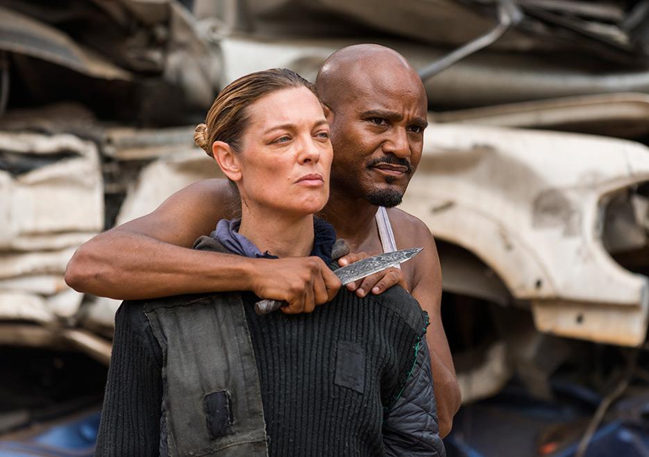 The Walking Dead: Sabrina Gennarino e Seth Gilliam in New Best Friends