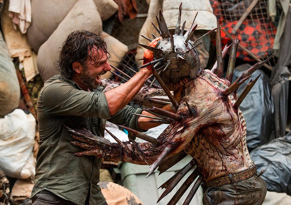 The Walking Dead: Andrew Lincoln in una foto di New Best Friends