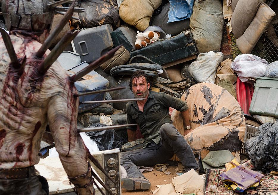 The Walking Dead: Rick in azione nell'episodio New Best Friends