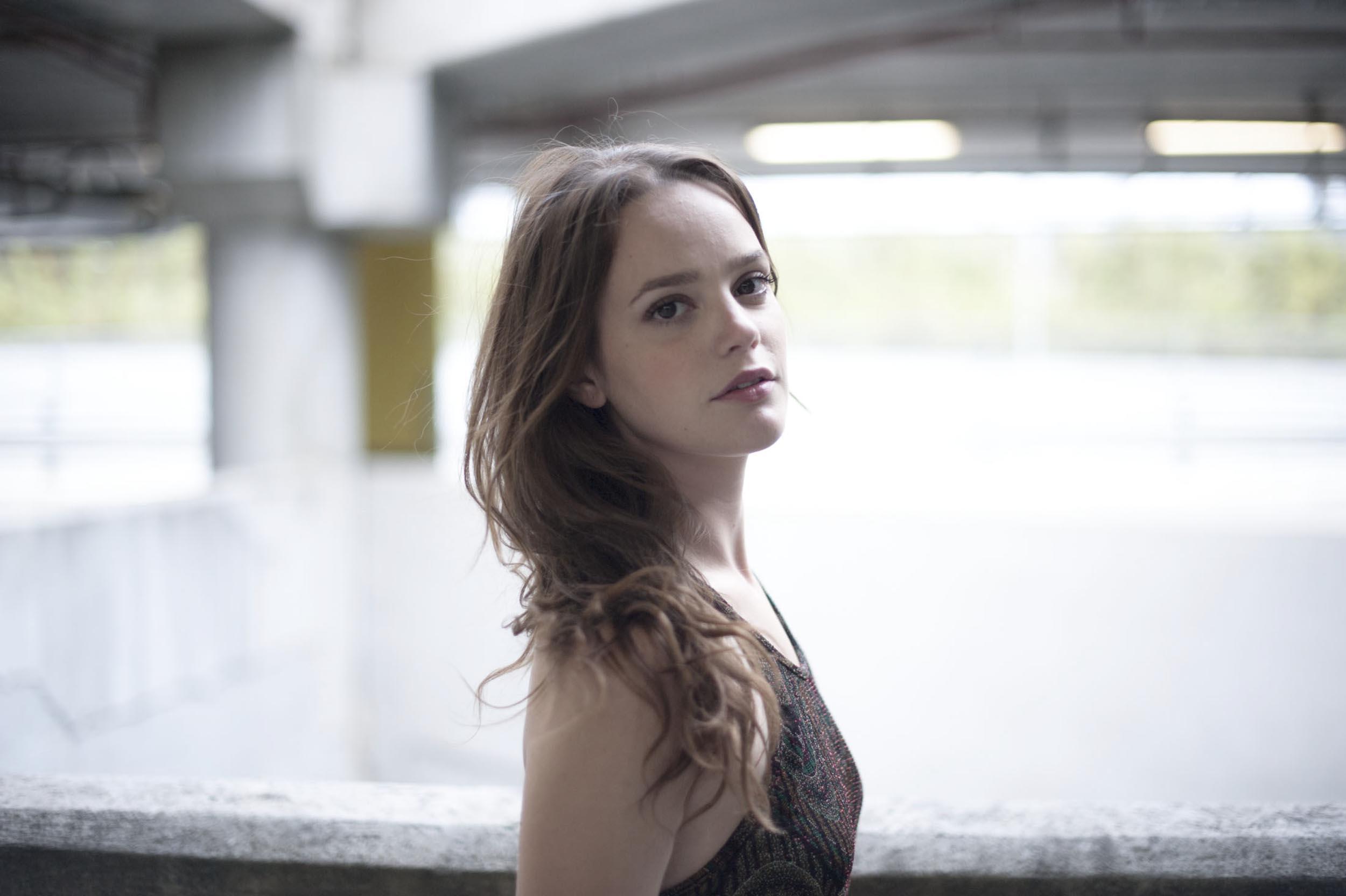 L'attrice Benedetta Cimatti (foto di Paolo Palmieri)