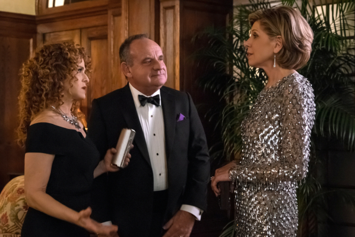 The Good Fight: Bernadette Peters, Paul Guilfoyle, e Christine Baranski in Inauguration