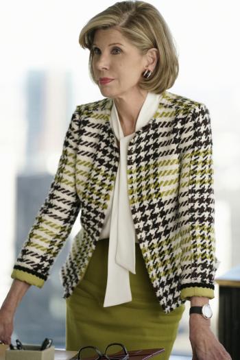 The Good Fight: la protagonista Christine Baranski in Inauguration