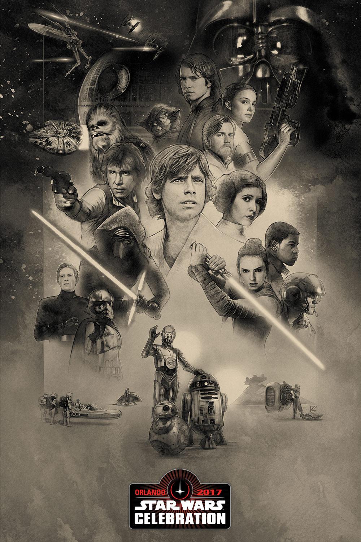 Star Wars Celebration 2017: un nuovo poster dell'evento