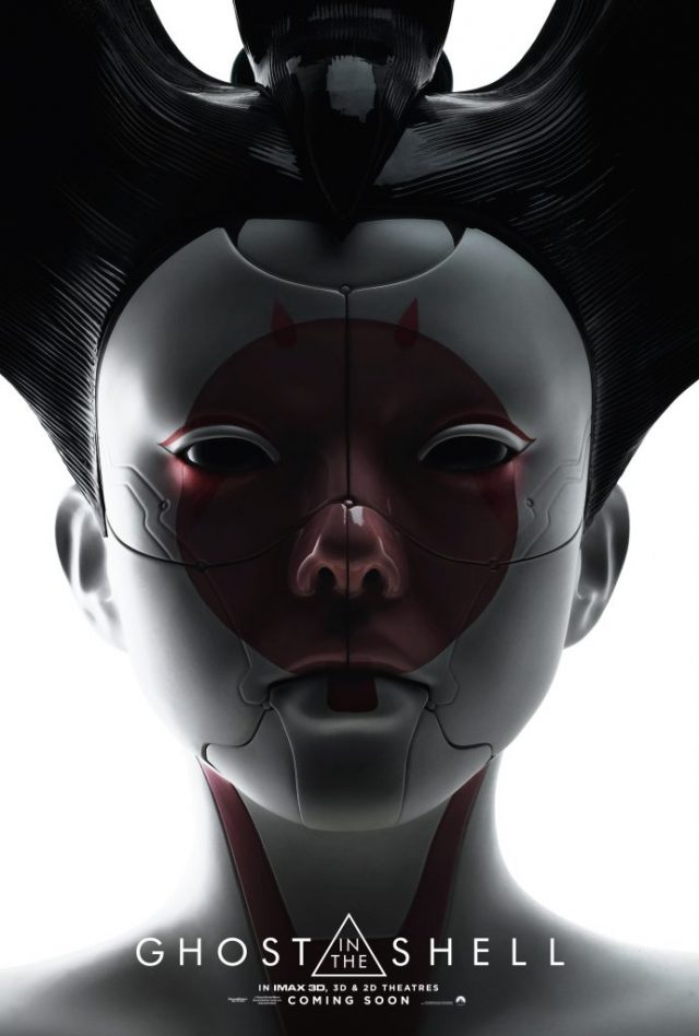 Ghost in the Shell: la locandina di Geisha