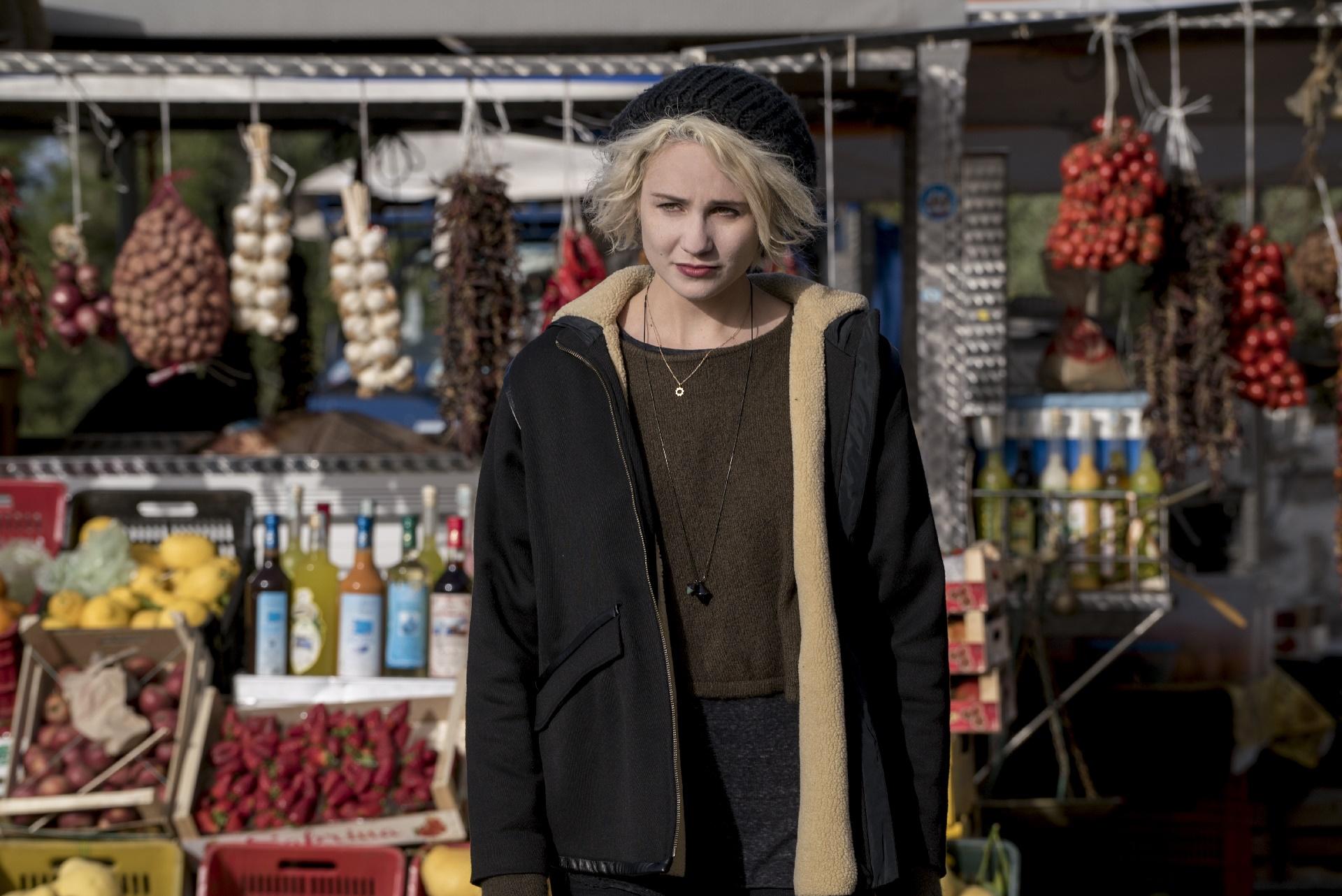 Sense8: una foto dell'attrice Tuppence Middleton