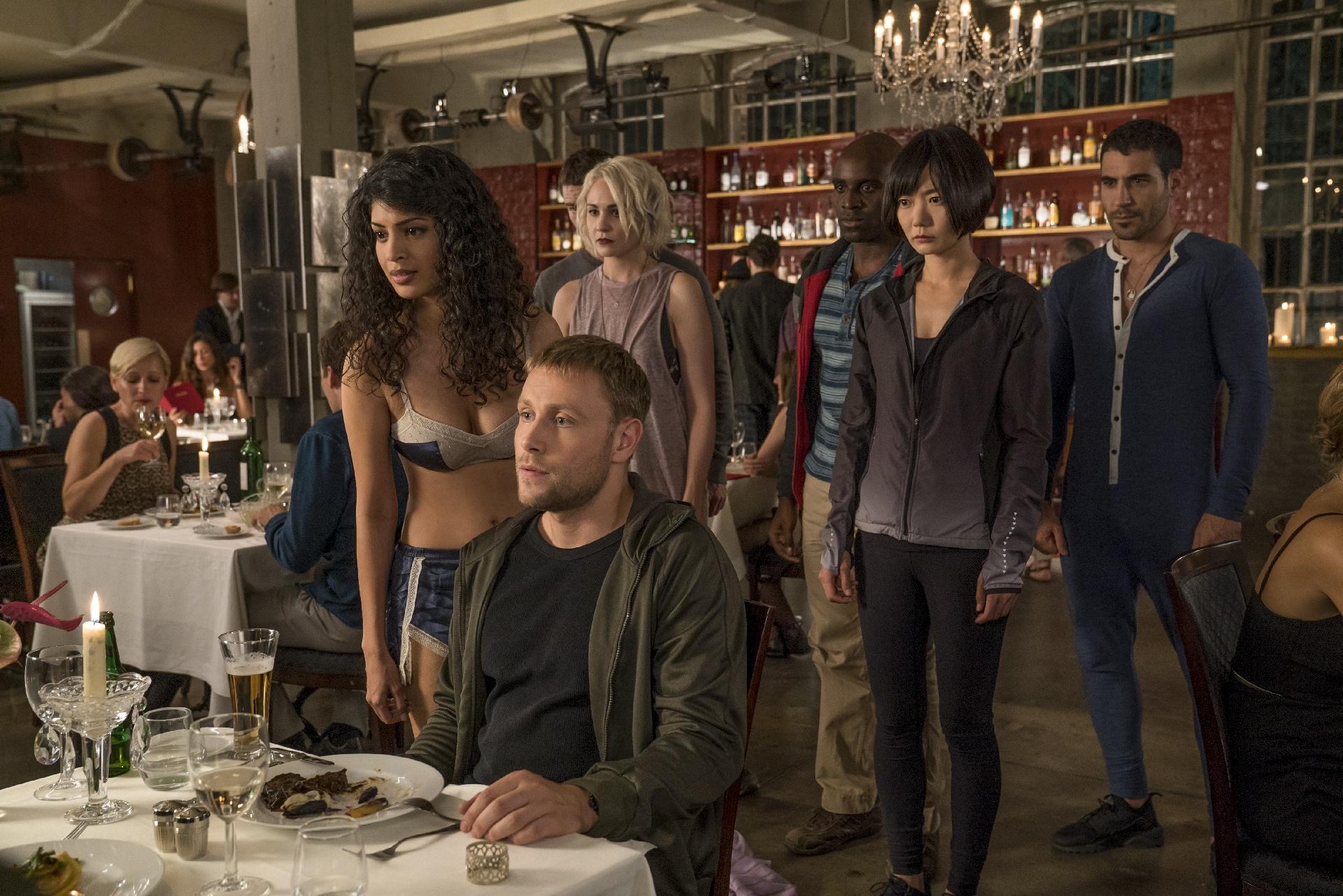 Sense8: una foto dei protagonisti della seconda stagione