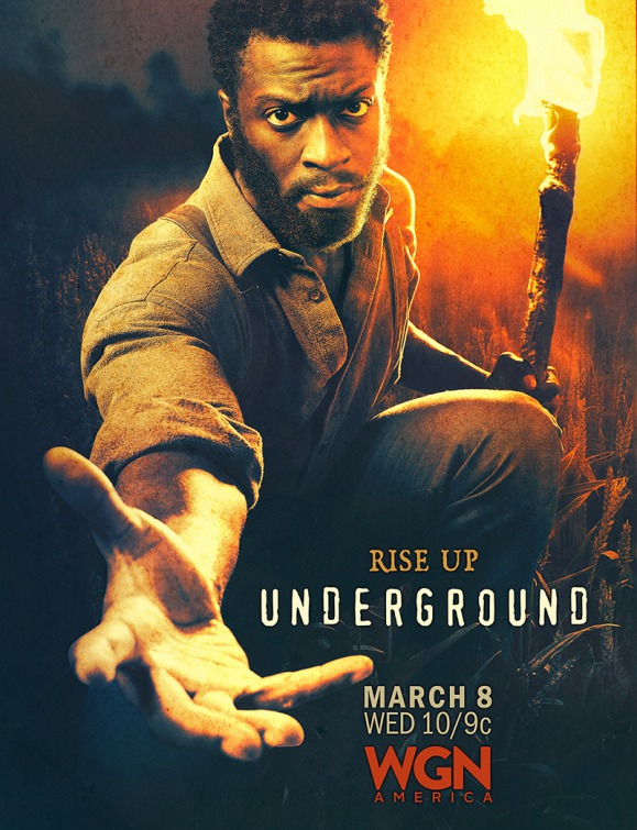 Underground: un character poster per Aldis Hodge