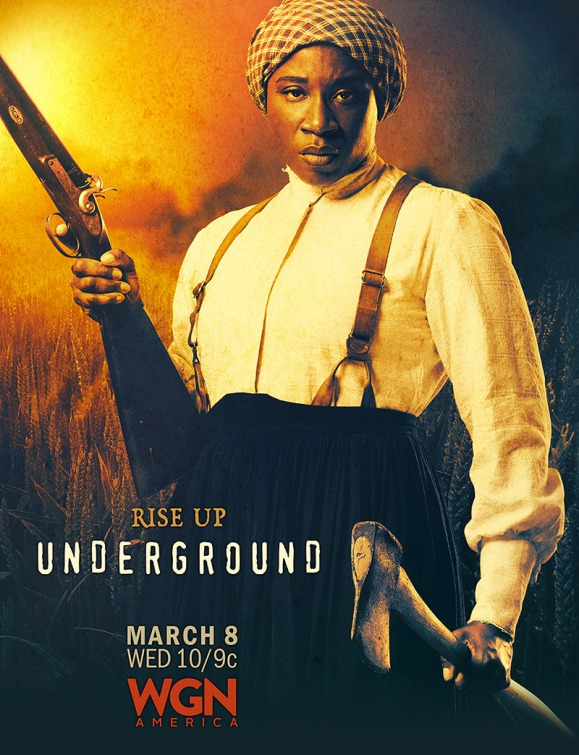 Underground: un character poster per Aisha Hinds
