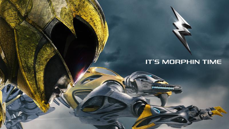 Power Rangers: uno dei banner del film