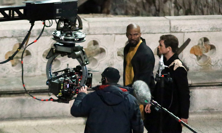 Robin Hood: Origins, una foto scattata durante le riprese del film