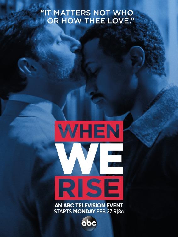 When We Rise: un poster della serie