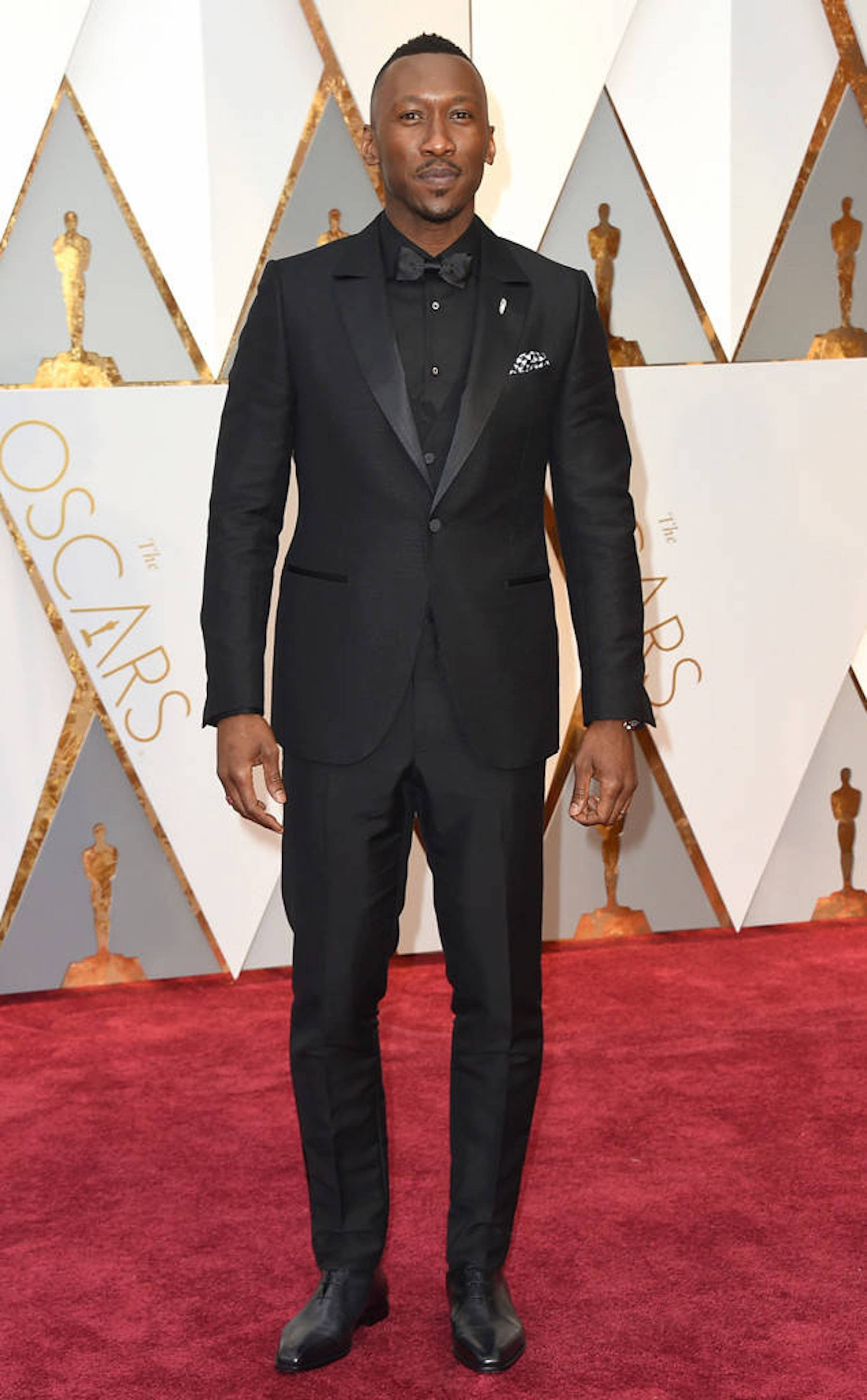 Oscar 2017: Mahershala Ali sul red carpet