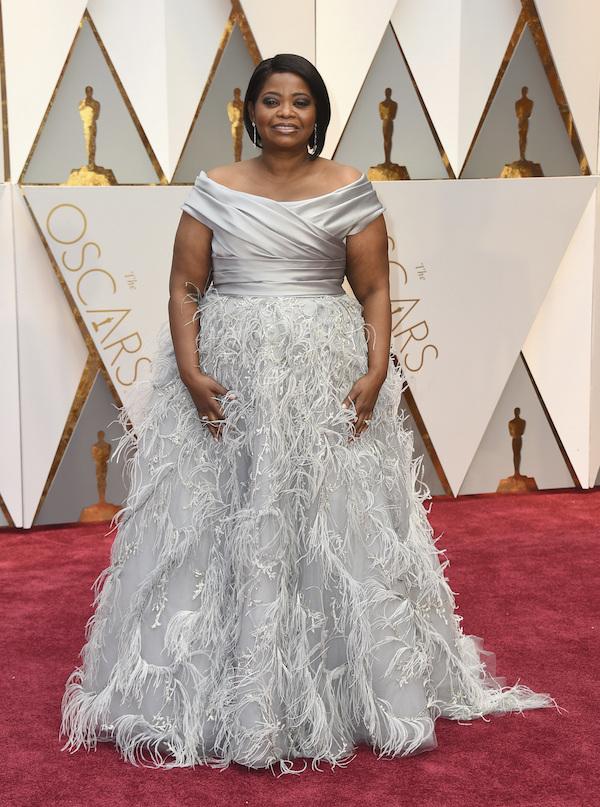 Oscar 2017: Octavia Spencer sul red carpet