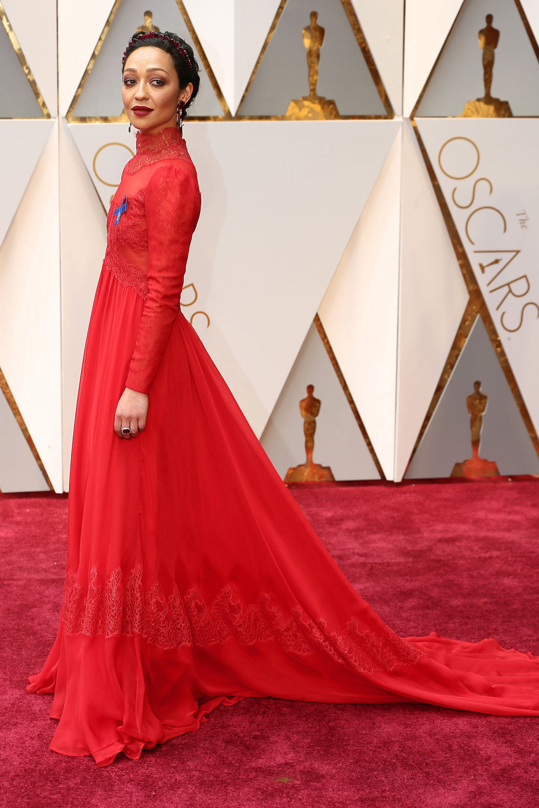 Oscar 2017: Ruth Negga sul red carpet