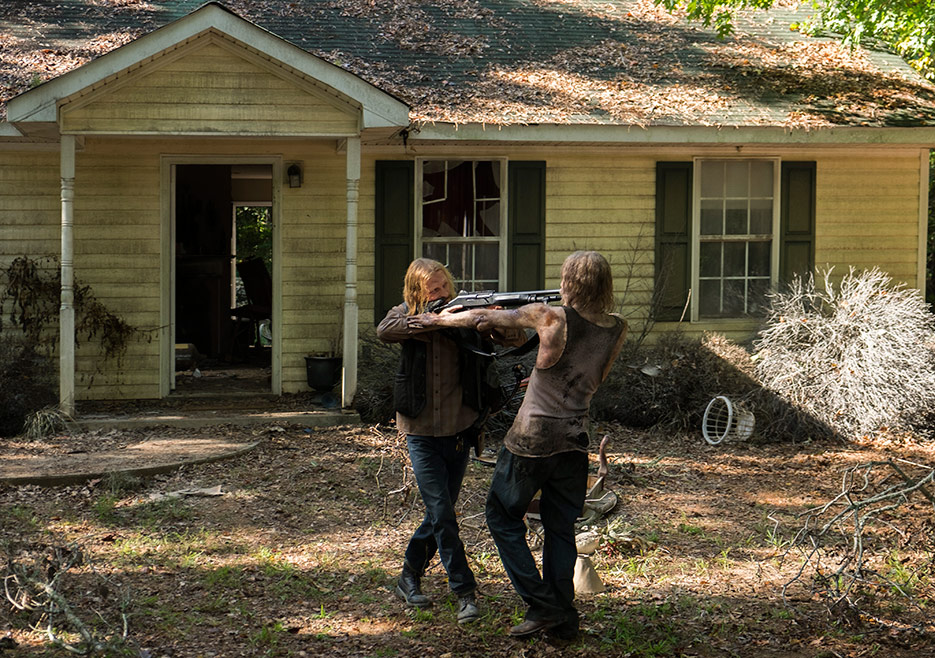 The Walking Dead: Austin Amelio in una foto di Hostiles and Calamities