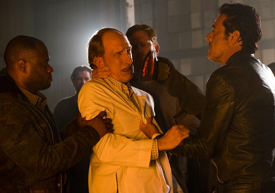The Walking Dead: un'immagine tratta dall'episodio Hostiles and Calamities
