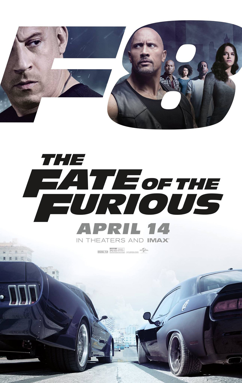 The Fate of the Furious: il poster del film