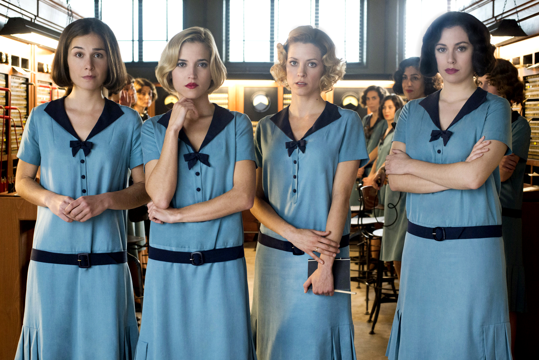 Las Chicas Del Cable: uno scatto delle protagoniste della serie spagnola