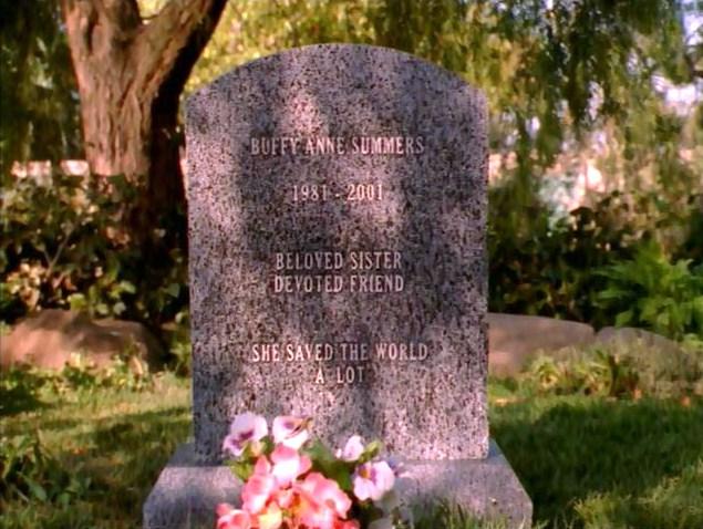 Buffy the Vampire Slayer: l'immagine finale dell'episodio Il dono