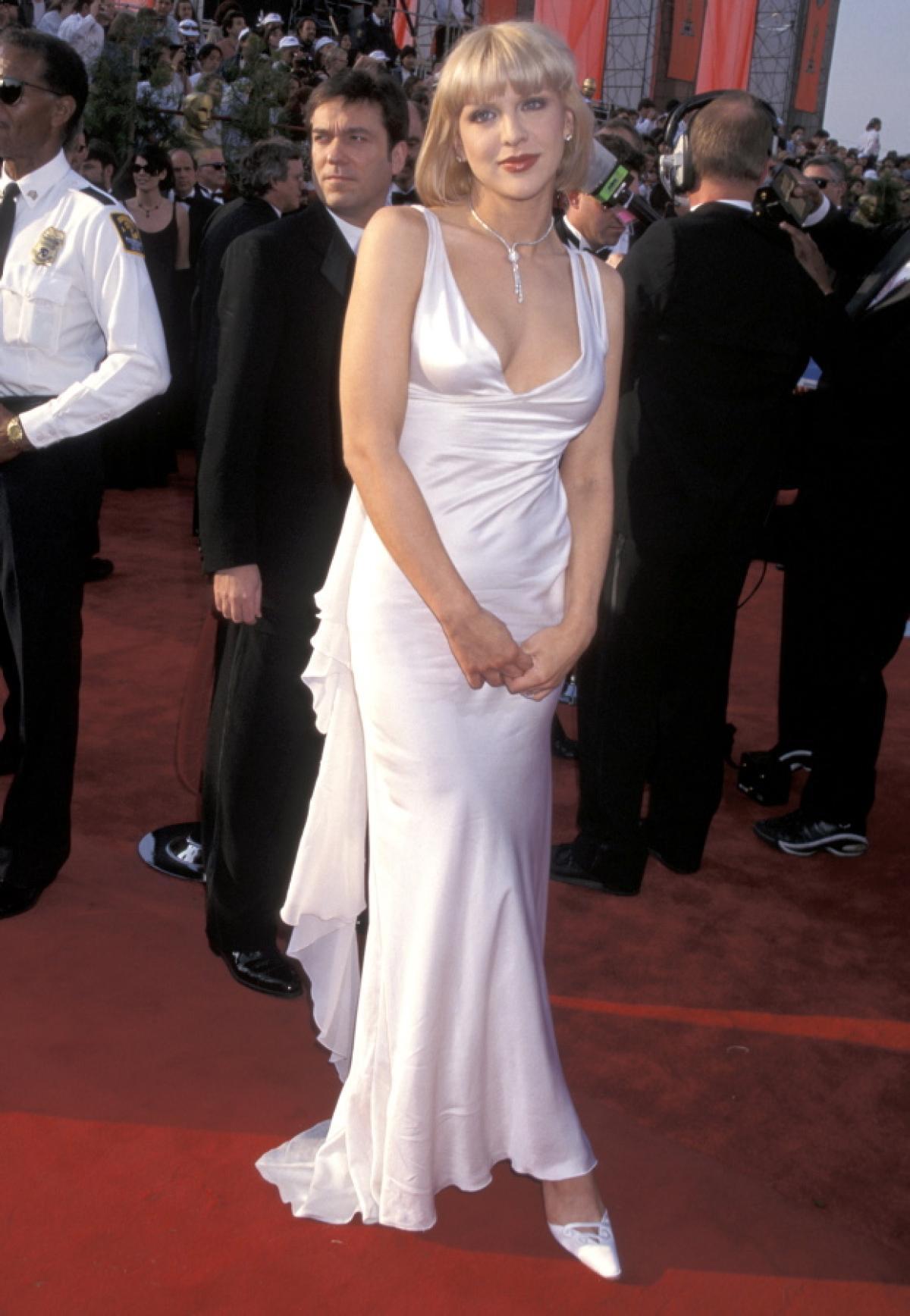 Courtney Love alla cerimonia degli Oscar del 1997