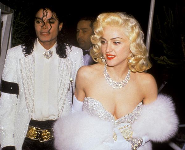 Madonna e Michael Jackson alla cerimonia degli Oscar